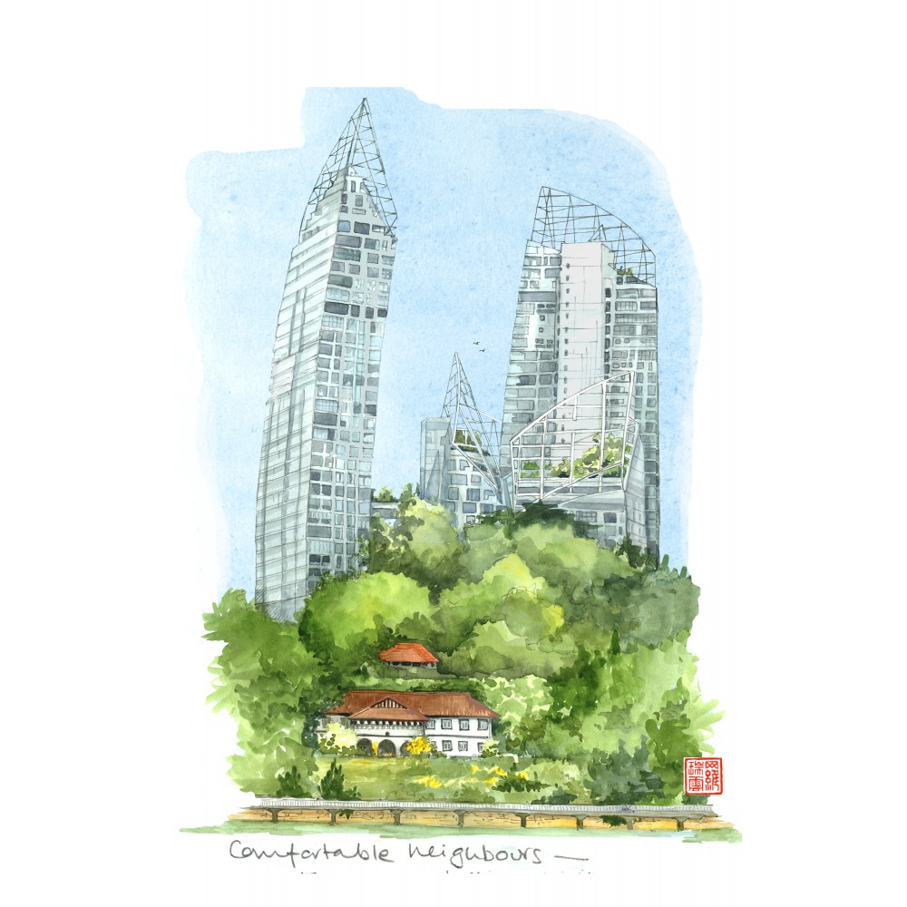 SINGAPORE  SKETCHES of the LION CITY