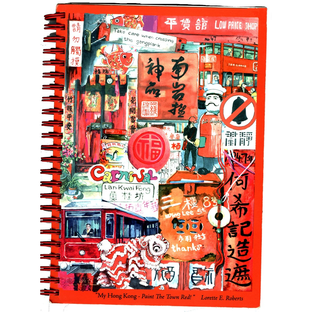 My Hong Kong Notebook - Paint the Town Red