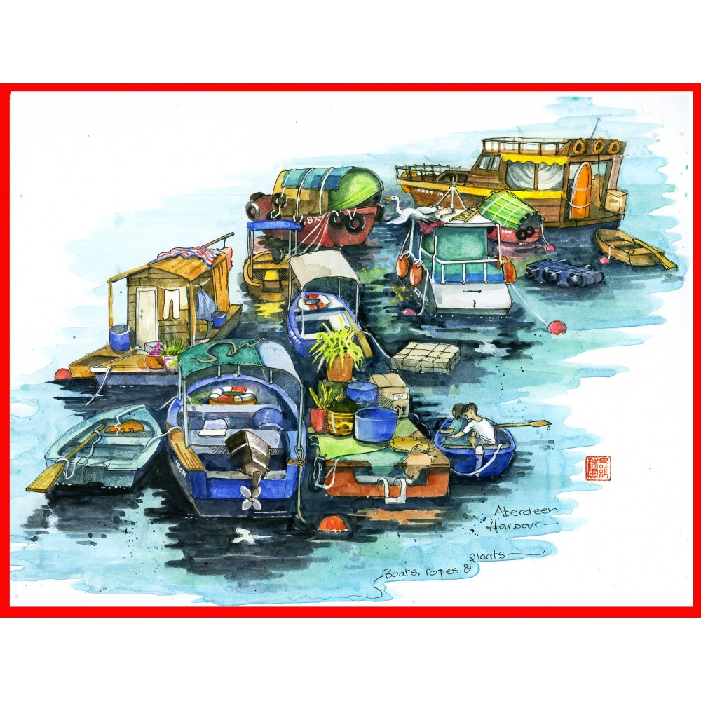 Sketches of Hong Kong - 2020 Calendar