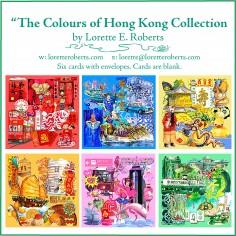The 'Colour Hong Kong' Cards