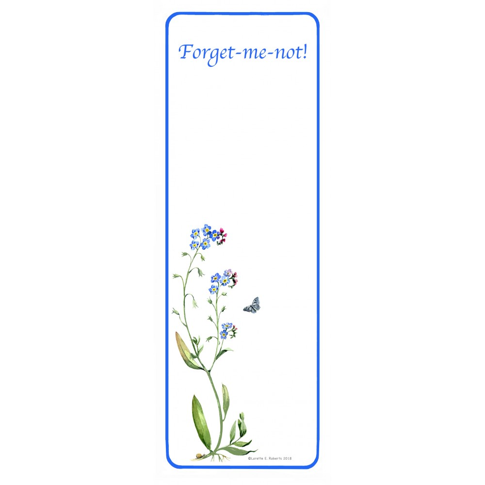 Forget-me-not! - Jotter Small
