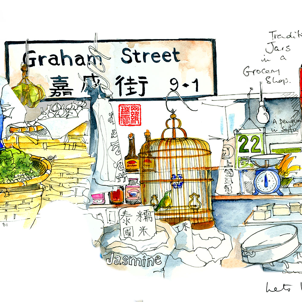 2018 HONG KONG WORKSHOPS AND SKETCHING GROUPS